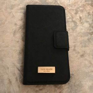 100% Authentic Kate Spade iPhone - Phone Wallet
